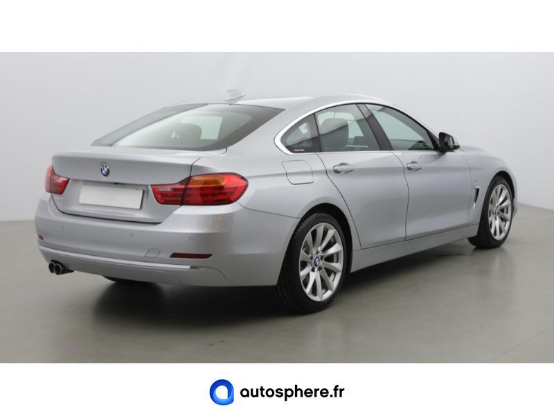 BMW SERIE 4 GRAN COUPE 420DA 190CH LUXURY - Miniature 5
