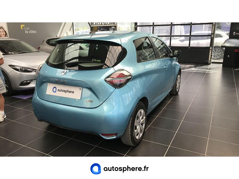 RENAULT ZOE LIFE CHARGE NORMALE R110 4CV - Miniature 2