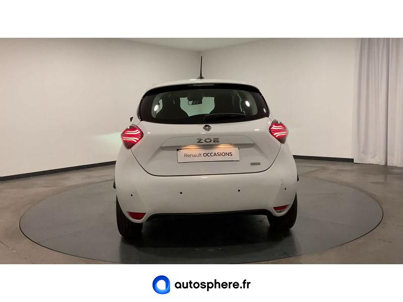 RENAULT ZOE LIFE CHARGE NORMALE R110 ACHAT INTéGRAL 4CV - Miniature 4
