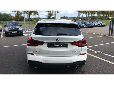 BMW X3 XDRIVE20DA 190CH M SPORT EURO6DT - Miniature 4