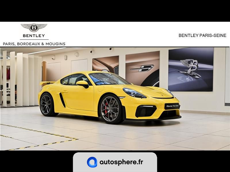PORSCHE CAYMAN 718 GT4 - Photo 1