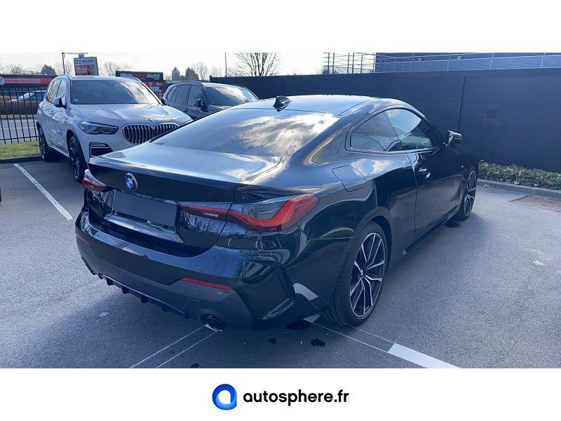 BMW SERIE 4 COUPE 420DA XDRIVE 190CH M SPORT - Miniature 2