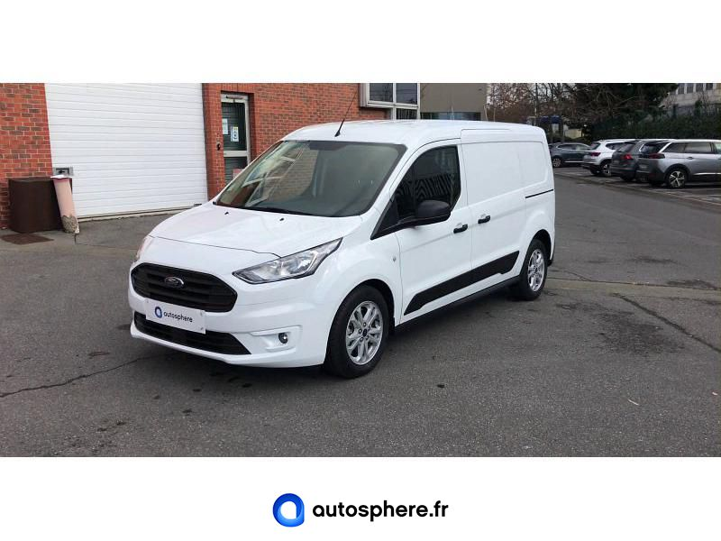 FORD TRANSIT CONNECT L1 1.5 ECOBLUE 120CH CABINE APPROFONDIE TREND BVA - Photo 1
