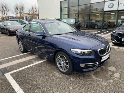 Bmw Serie 2 Coupe 218d 150ch Luxury occasion