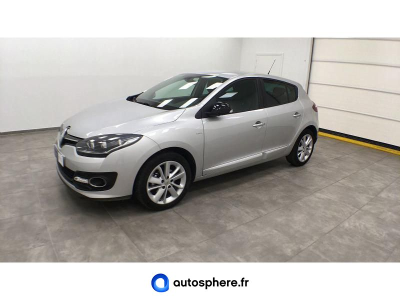 RENAULT MEGANE 1.2 TCE 115CH ENERGY LIMITED ECO² 2015 - Photo 1