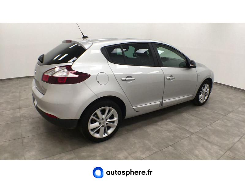 RENAULT MEGANE 1.2 TCE 115CH ENERGY LIMITED ECO² 2015 - Miniature 2