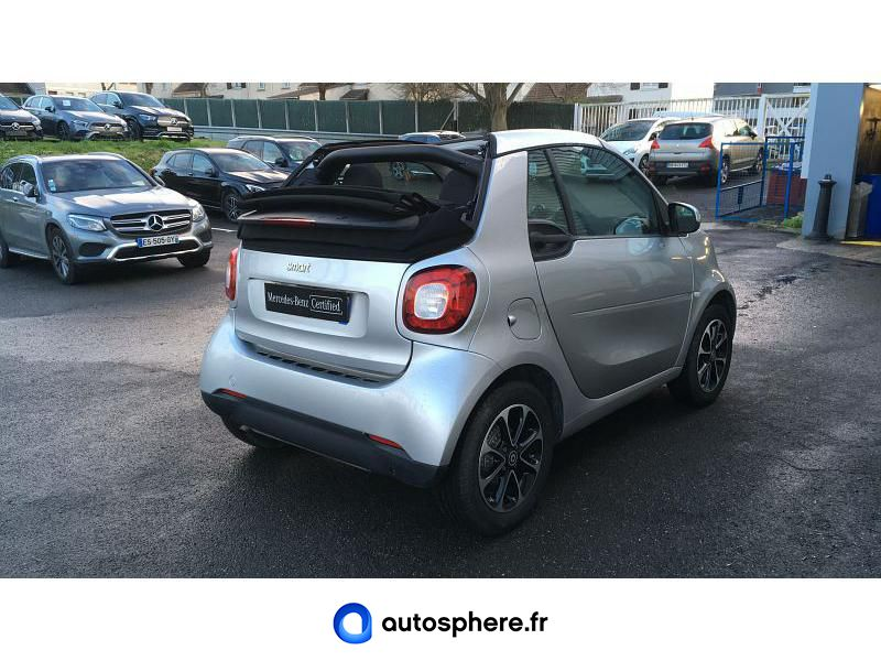 SMART FORTWO CABRIOLET 90CH PASSION TWINAMIC - Miniature 2