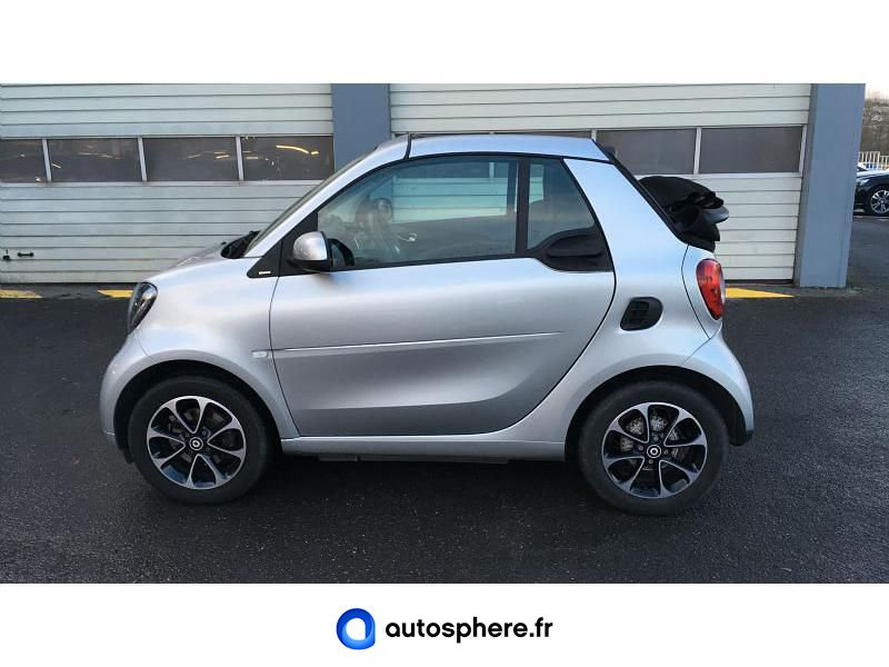 SMART FORTWO CABRIOLET 90CH PASSION TWINAMIC - Miniature 3