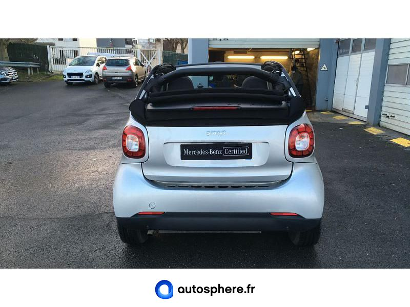 SMART FORTWO CABRIOLET 90CH PASSION TWINAMIC - Miniature 4