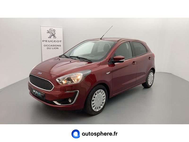 FORD KA+ 1.2 TI-VCT 85CH S&S ULTIMATE - Miniature 1