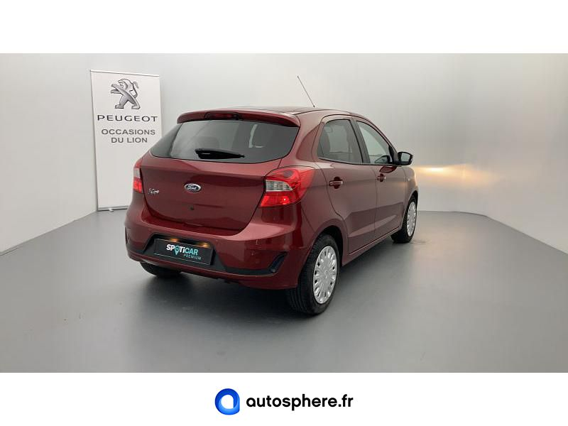 FORD KA+ 1.2 TI-VCT 85CH S&S ULTIMATE - Miniature 2