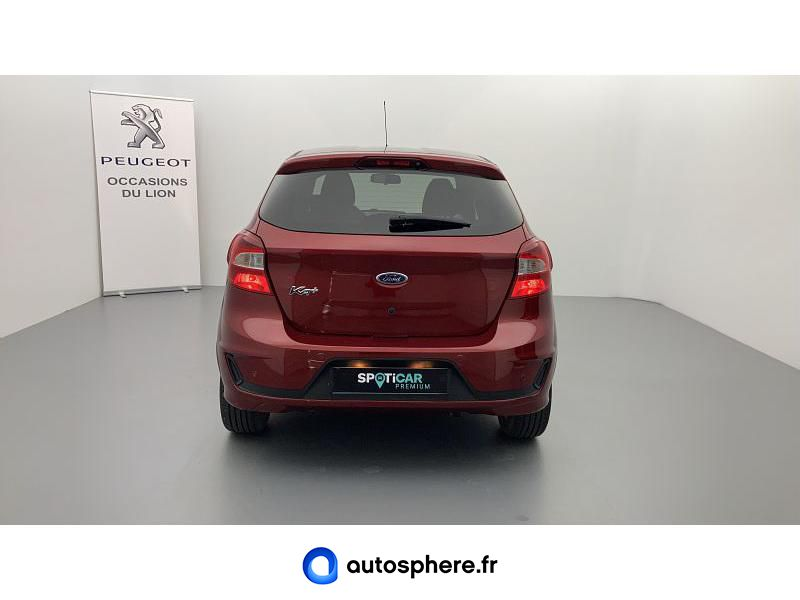 FORD KA+ 1.2 TI-VCT 85CH S&S ULTIMATE - Miniature 4