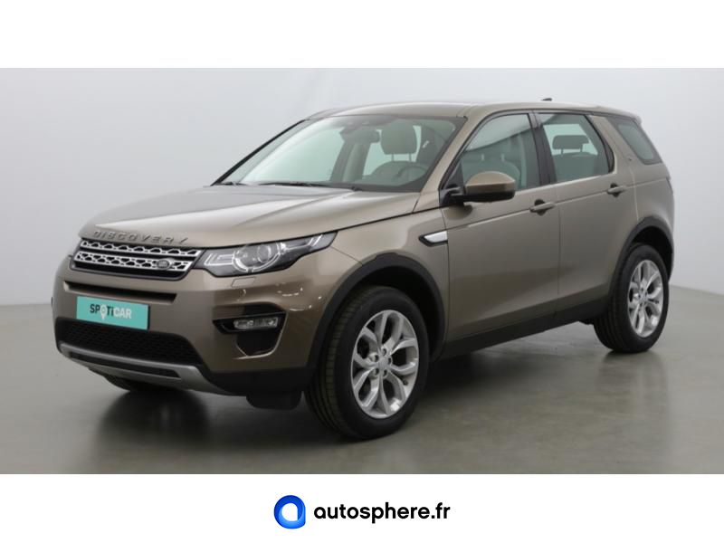 LAND-ROVER DISCOVERY SPORT 2.0 TD4 150CH HSE AWD MARK III - Photo 1