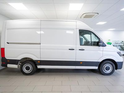VOLKSWAGEN CRAFTER 35 L3H3 2.0 TDI 177CH BUSINESS LINE TRACTION - Miniature 4