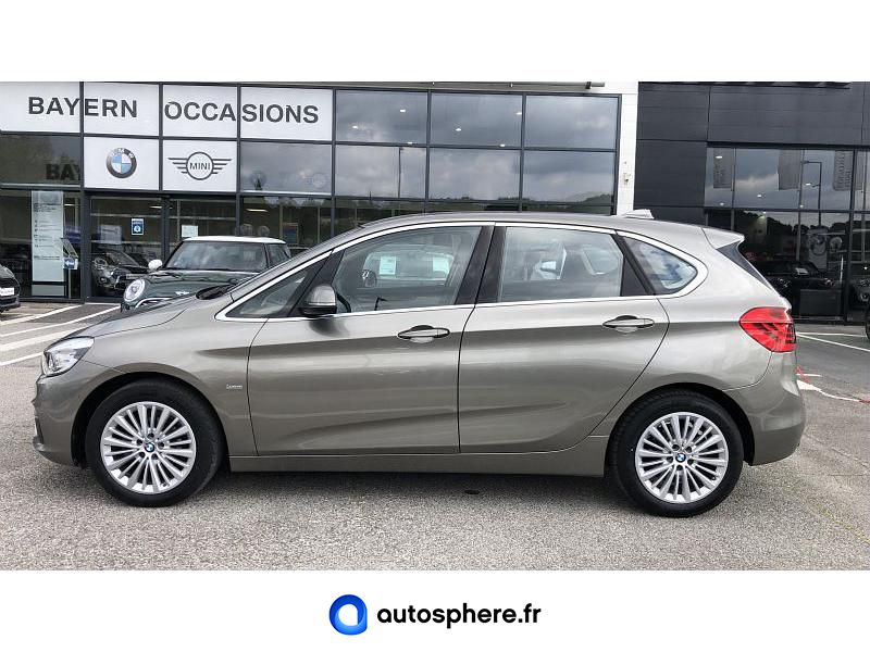 BMW SERIE 2 ACTIVE TOURER 216I 102CH LUXURY - Miniature 3