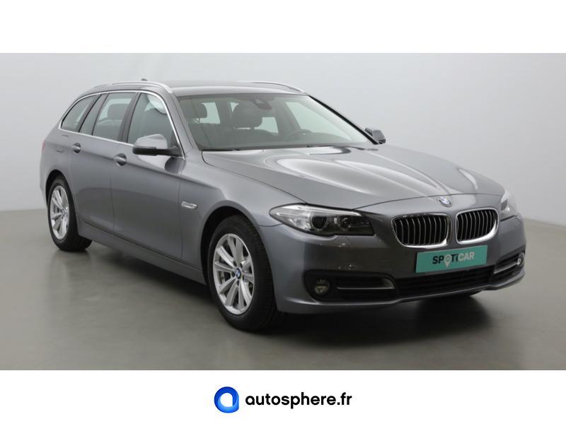 BMW SERIE 5 TOURING 518D 150CH LOUNGE PLUS - Miniature 3