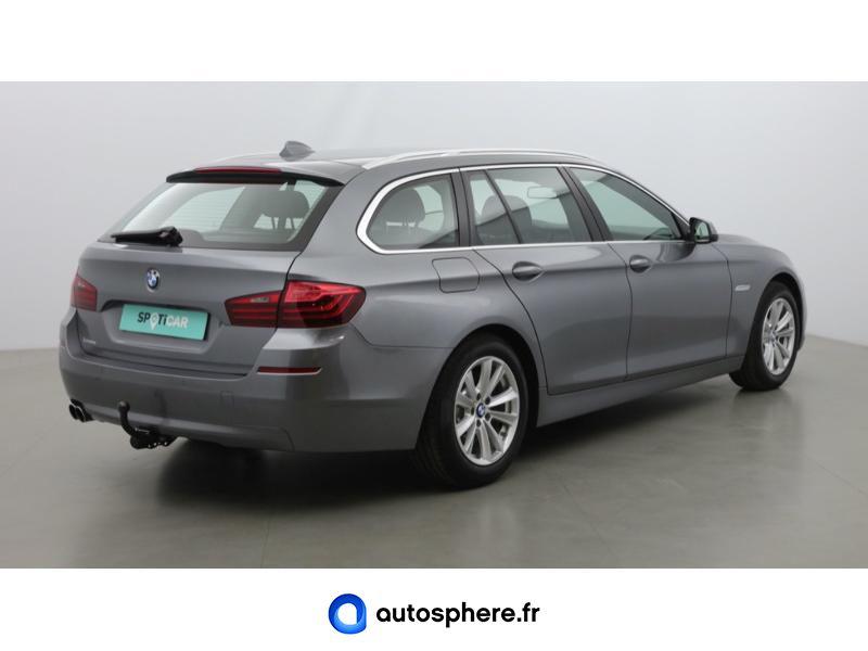 BMW SERIE 5 TOURING 518D 150CH LOUNGE PLUS - Miniature 5