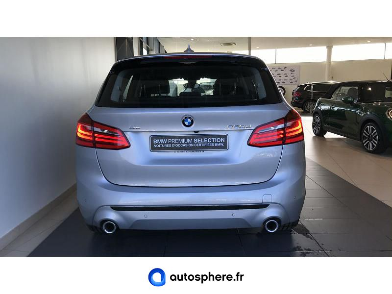 BMW SERIE 2 ACTIVE TOURER 220DA 190CH SPORT - Miniature 4