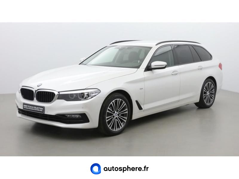 BMW SERIE 5 TOURING 520DA XDRIVE 190CH SPORT STEPTRONIC - Photo 1