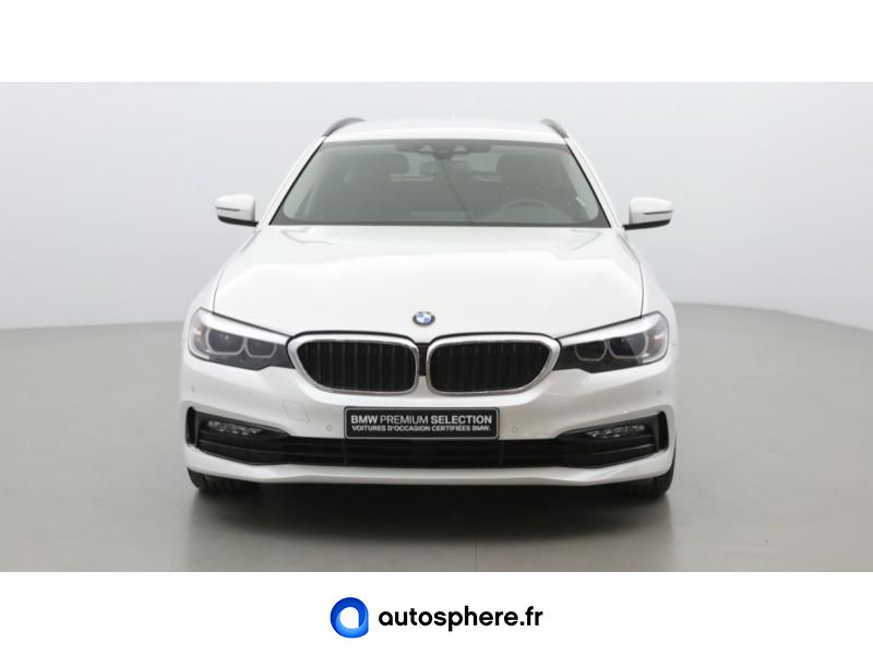 BMW SERIE 5 TOURING 520DA XDRIVE 190CH SPORT STEPTRONIC - Miniature 2