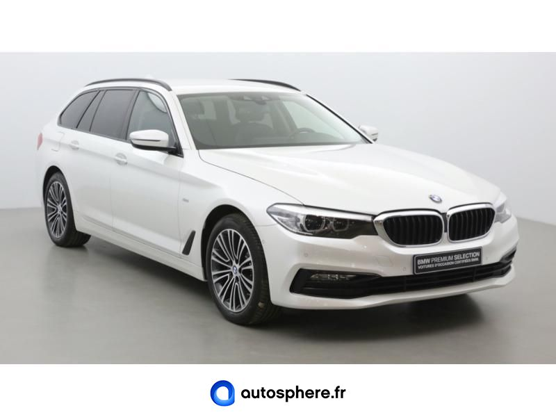 BMW SERIE 5 TOURING 520DA XDRIVE 190CH SPORT STEPTRONIC - Miniature 3