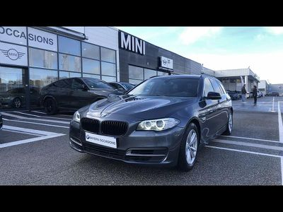 BMW SERIE 5 TOURING 520DA 190CH LOUNGE PLUS - Miniature 1