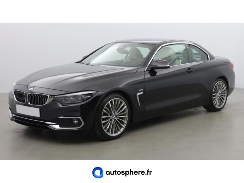 BMW SERIE 4 CABRIOLET 420DA 190CH LUXURY - Photo 1