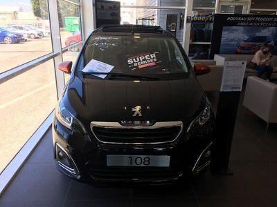 Peugeot 108 VTi 72 Top! Roland Garros S&S 4cv 5p occasion