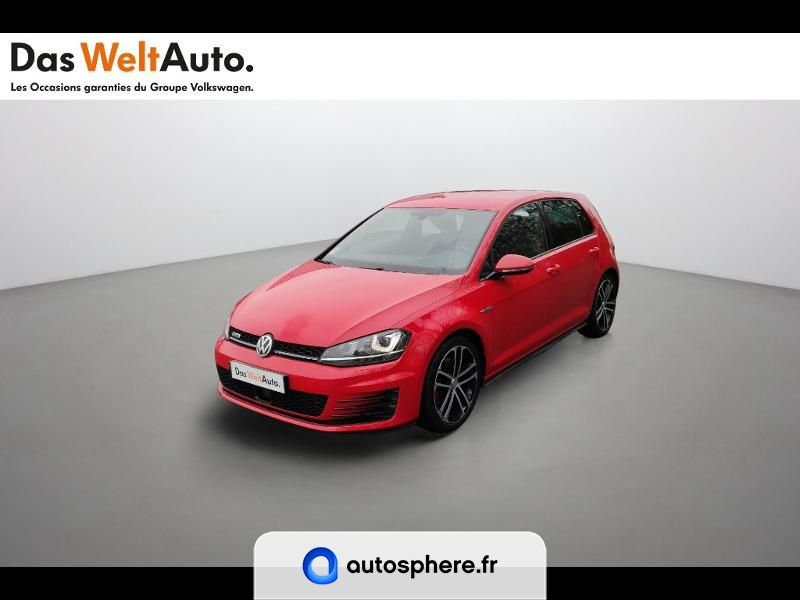 VOLKSWAGEN GOLF 2.0 TDI 184CH BLUEMOTION TECHNOLOGY FAP GTD 5P - Photo 1