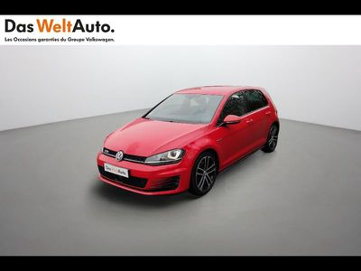VOLKSWAGEN GOLF 2.0 TDI 184CH BLUEMOTION TECHNOLOGY FAP GTD 5P - Miniature 1