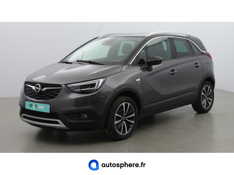 OPEL CROSSLAND X 1.2 TURBO 110CH DESIGN 120 ANS EURO 6D-T - Miniature 1