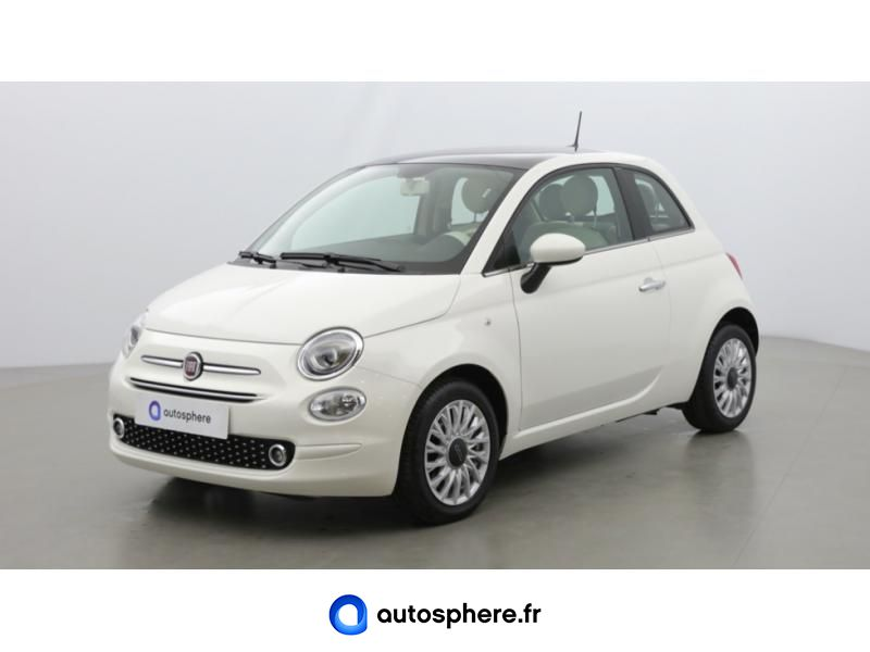 FIAT 500 1.2 8V 69CH ECO PACK LOUNGE EURO6D - Photo 1