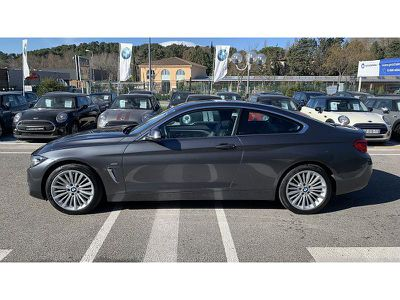 BMW SERIE 4 COUPE 420D 190CH LUXURY - Miniature 3