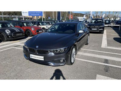 BMW SERIE 4 COUPE 420D 190CH LUXURY - Miniature 1