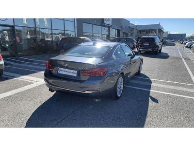 BMW SERIE 4 COUPE 420D 190CH LUXURY - Miniature 2