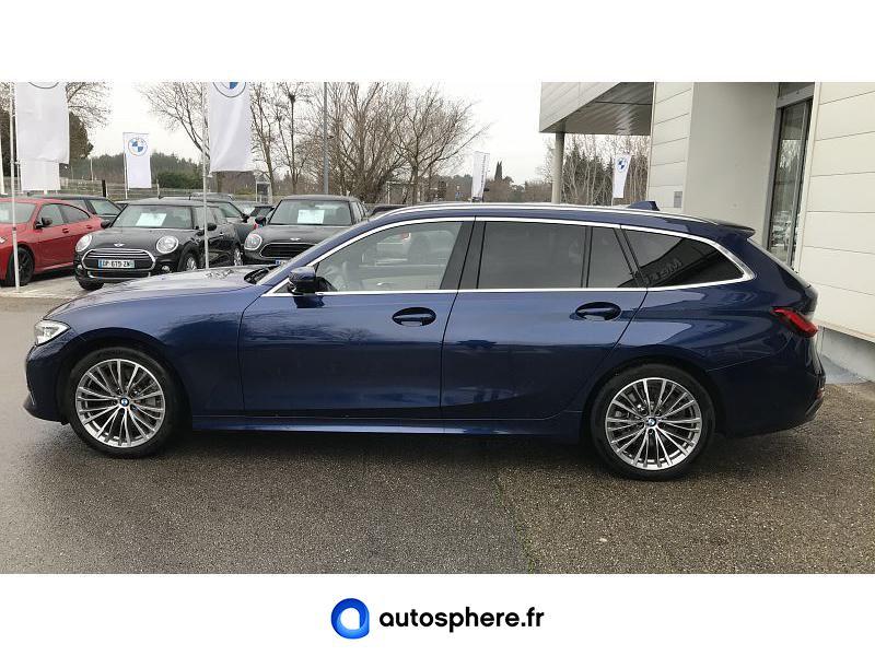 BMW SERIE 3 TOURING 330DA XDRIVE 265CH LUXURY - Miniature 3