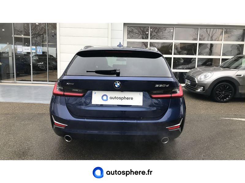 BMW SERIE 3 TOURING 330DA XDRIVE 265CH LUXURY - Miniature 4