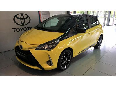 Toyota Yaris 100h Collection Jaune 5p occasion