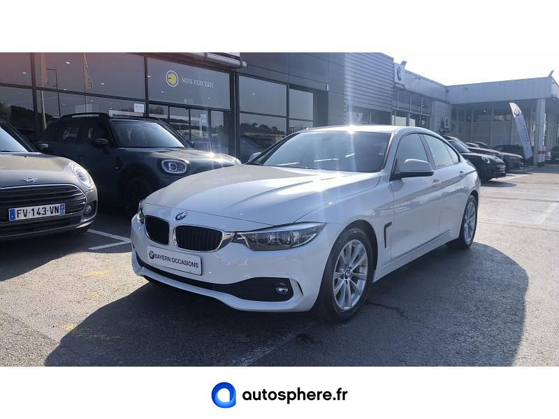 BMW SERIE 4 GRAN COUPE 418D 150CH LOUNGE - Miniature 1