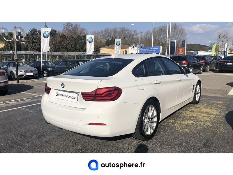 BMW SERIE 4 GRAN COUPE 418D 150CH LOUNGE - Miniature 3