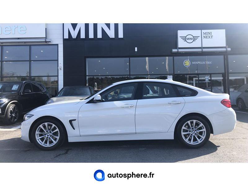 BMW SERIE 4 GRAN COUPE 418D 150CH LOUNGE - Miniature 4