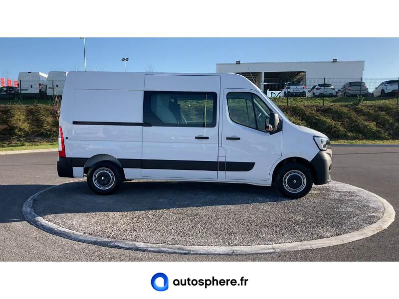 RENAULT MASTER F3500 L2H2 2.3 DCI 150CH ENERGY CABINE APPROFONDIE GRAND CONFORT EURO6 - Miniature 2