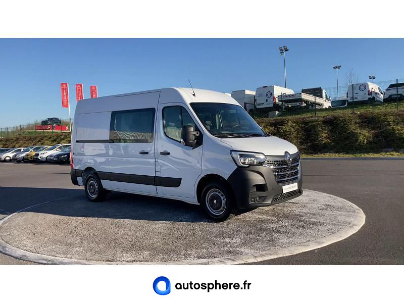 RENAULT MASTER F3500 L2H2 2.3 DCI 150CH ENERGY CABINE APPROFONDIE GRAND CONFORT EURO6 - Miniature 4