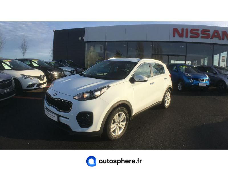 KIA SPORTAGE 1.7 CRDI 115CH ISG ACTIVE 4X2 - Photo 1