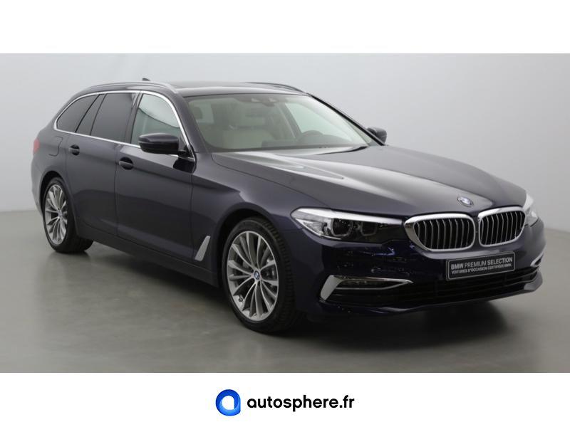 BMW SERIE 5 TOURING 530DA XDRIVE 265CH LUXURY EURO6C - Miniature 3