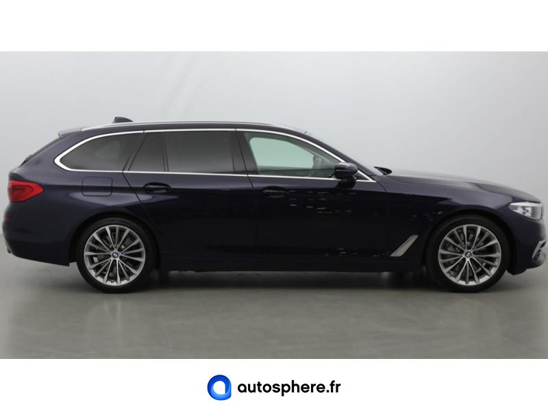 BMW SERIE 5 TOURING 530DA XDRIVE 265CH LUXURY EURO6C - Miniature 4