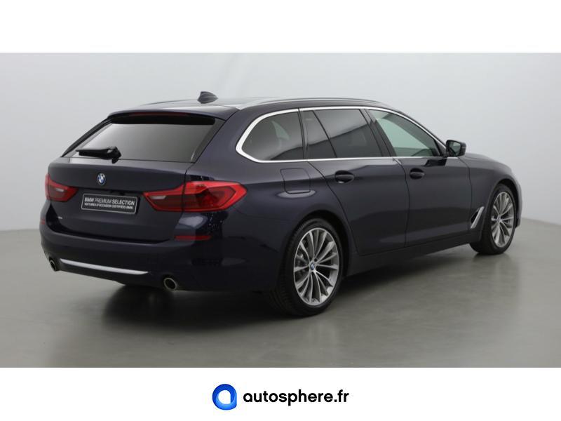 BMW SERIE 5 TOURING 530DA XDRIVE 265CH LUXURY EURO6C - Miniature 5