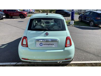 FIAT 500 1.2 8V 69CH ECO PACK LOUNGE EURO6D - Miniature 4