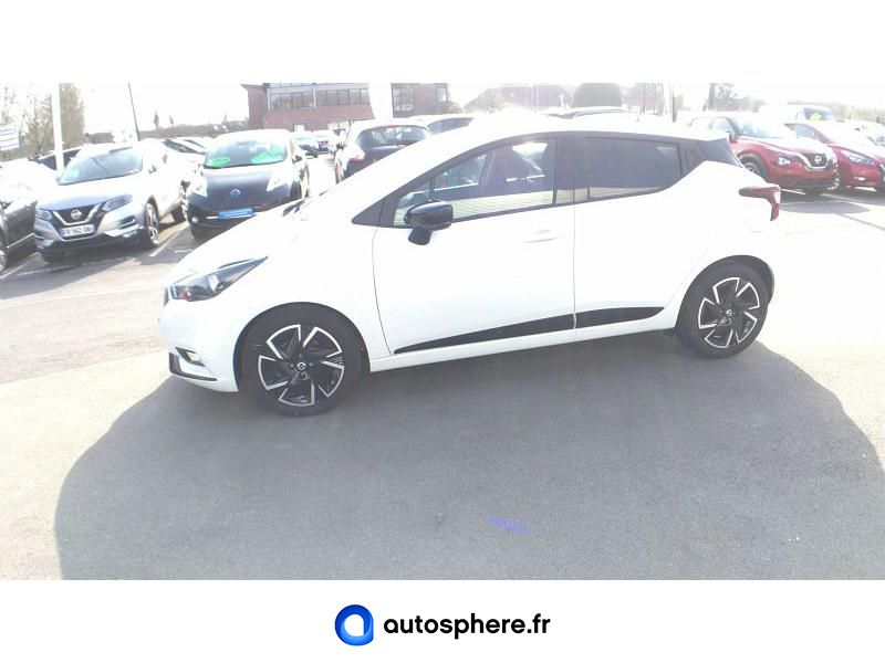 NISSAN MICRA 1.0 IG-T 92CH MADE IN FRANCE XTRONIC 2021 - Miniature 3