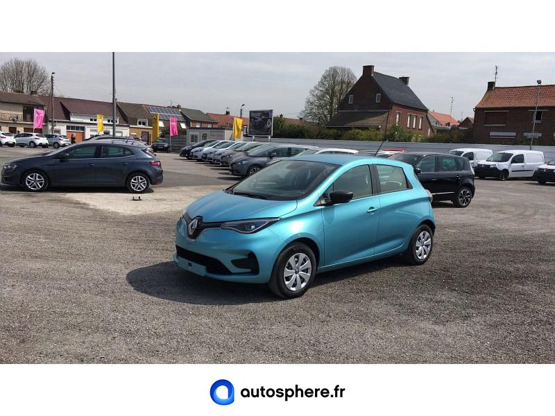 RENAULT ZOE LIFE CHARGE NORMALE R110 ACHAT INTéGRAL - Miniature 1